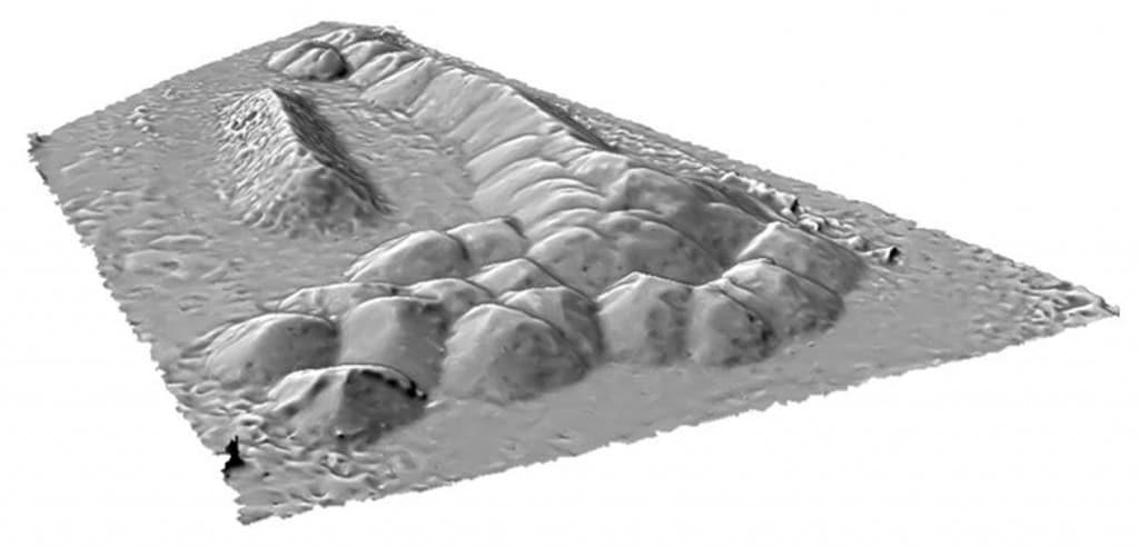 Volumétrie avec photogrammétrie d'une zone