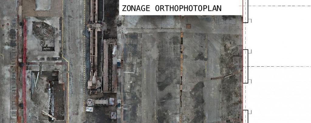 l'orthophotographie par drone