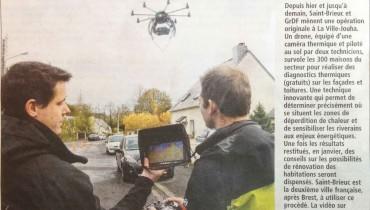 La presse – Thermographie par drone