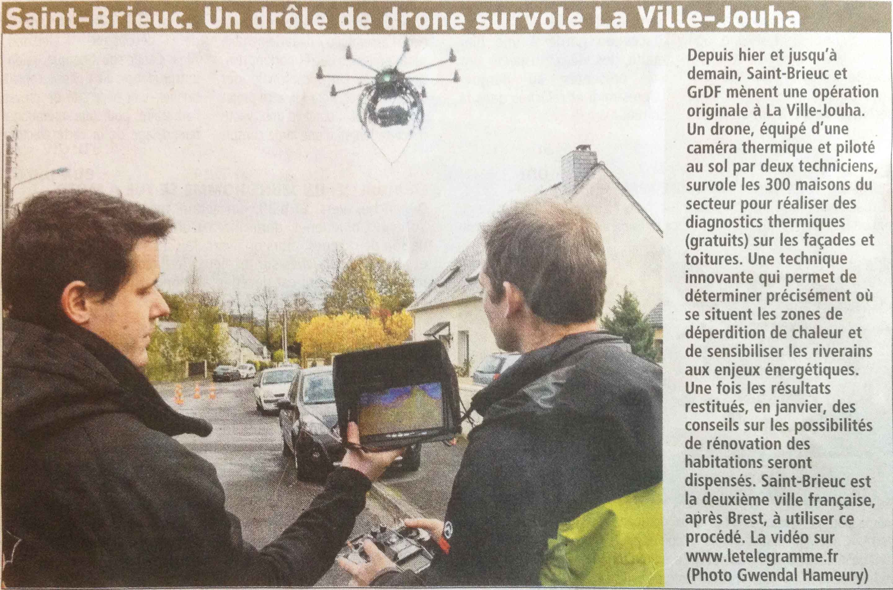thermographie drone