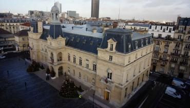 Inspection par drone de la Mairie du 14ème