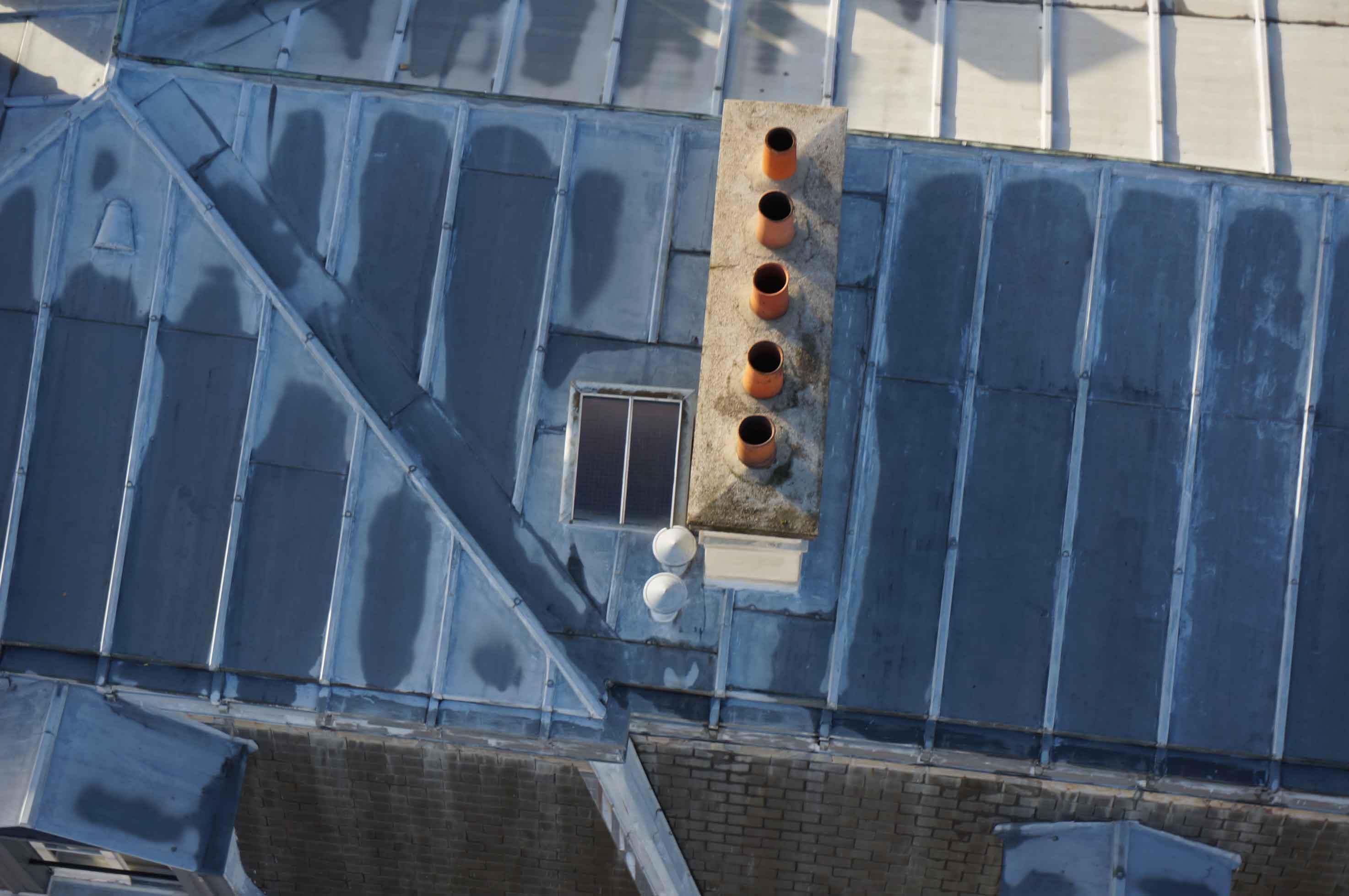 inspection par drone cheminée