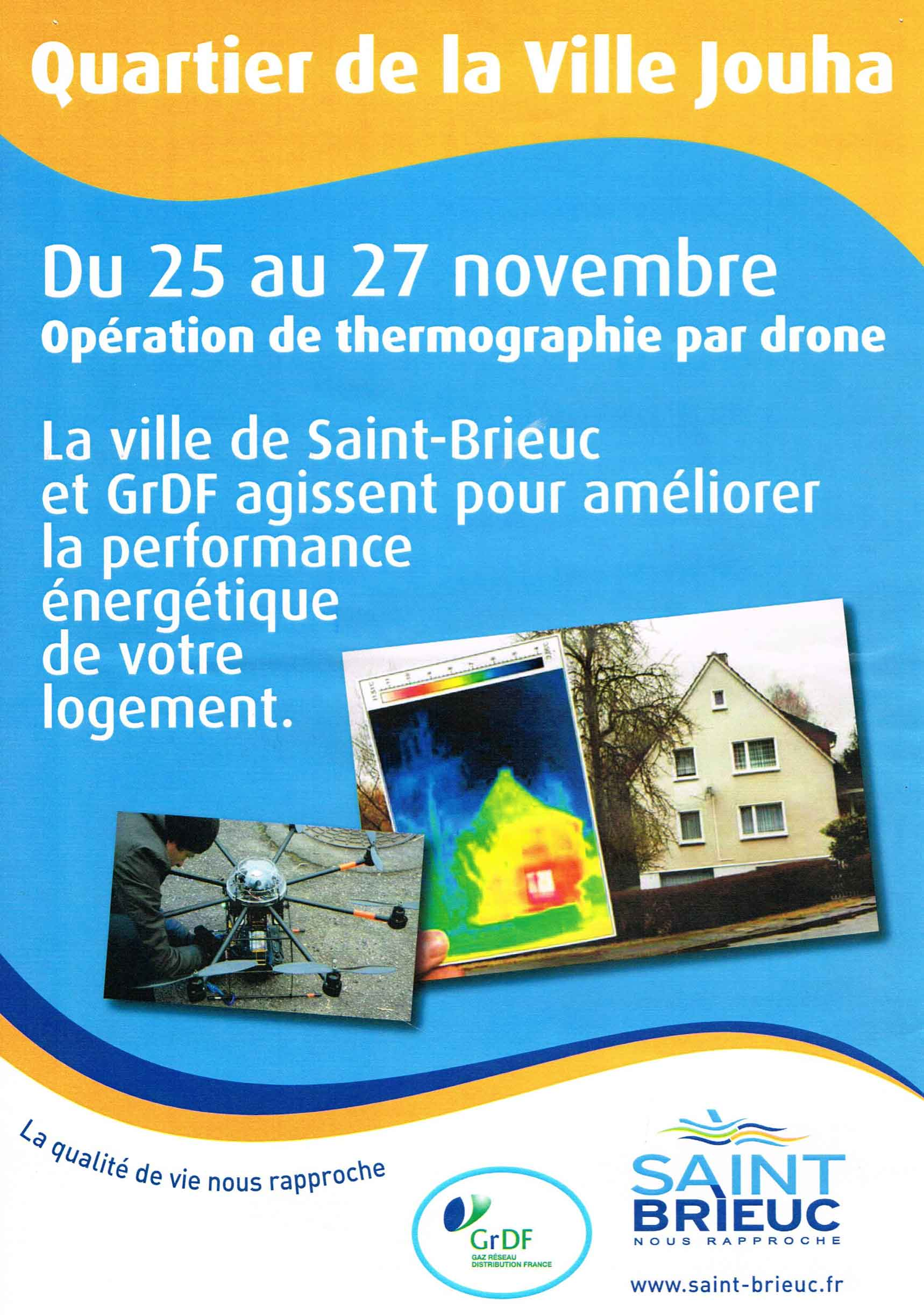 presse drone jouha Thermographie