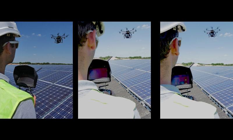 Inspection par drone StudioFly - EDF