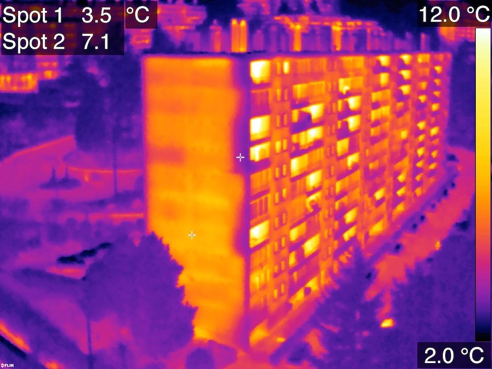thermographie aerienne par drone