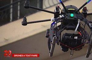 StudioFly Technologie au JT de 20h sur France 2