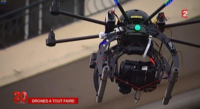 Studiofly Technologie JT France 2