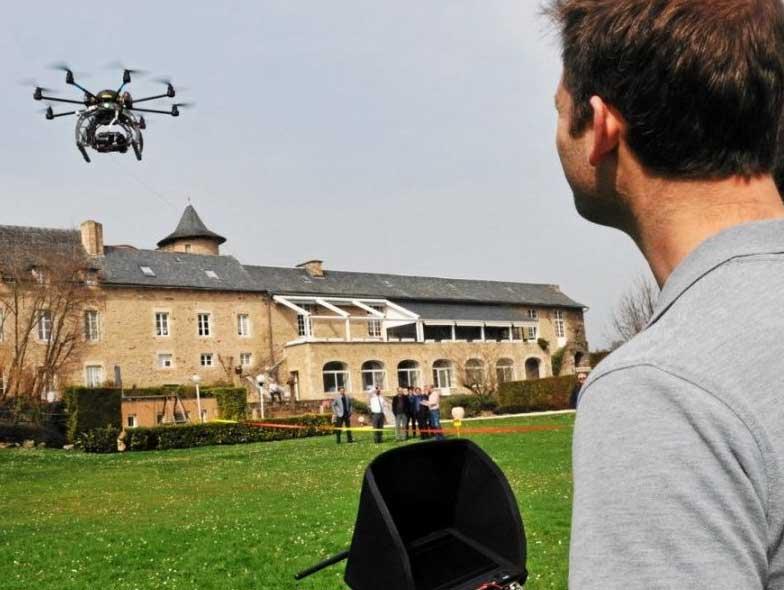 Traquer les déperditions thermiques grâce au drone