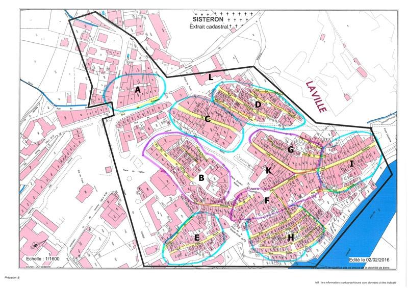 Plan thermographie par drone pour le plan de renouvellement énergétique de Sisteron