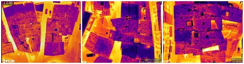 Plan de renouvellement énergétique : Thermogramme par drone
