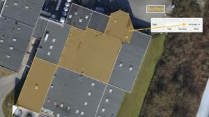 Orthophotographie par drone pour un calcul de surface