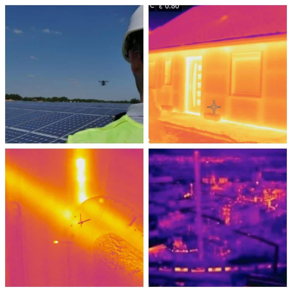 Comment détecter les pertes de chaleur avec un drone ?