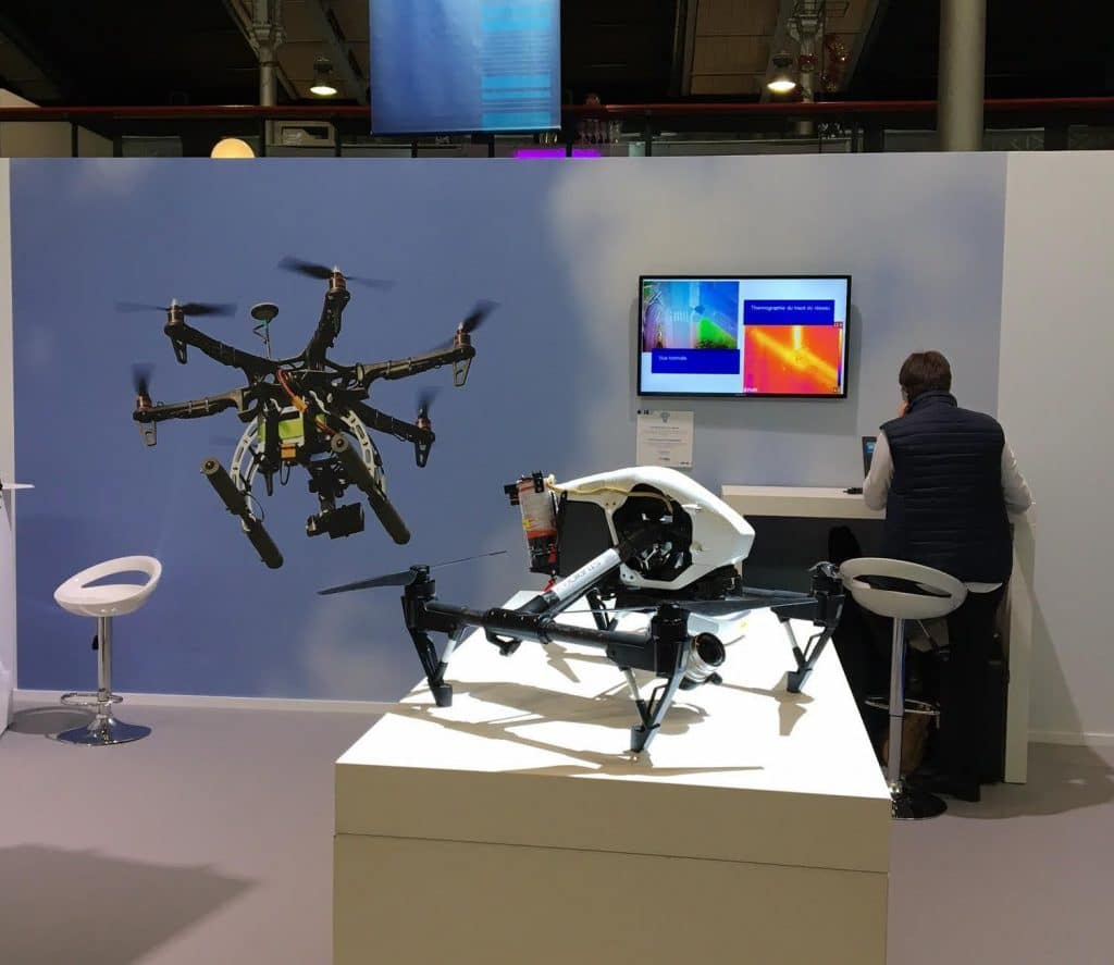 Drone thermographie EDF Electric Days