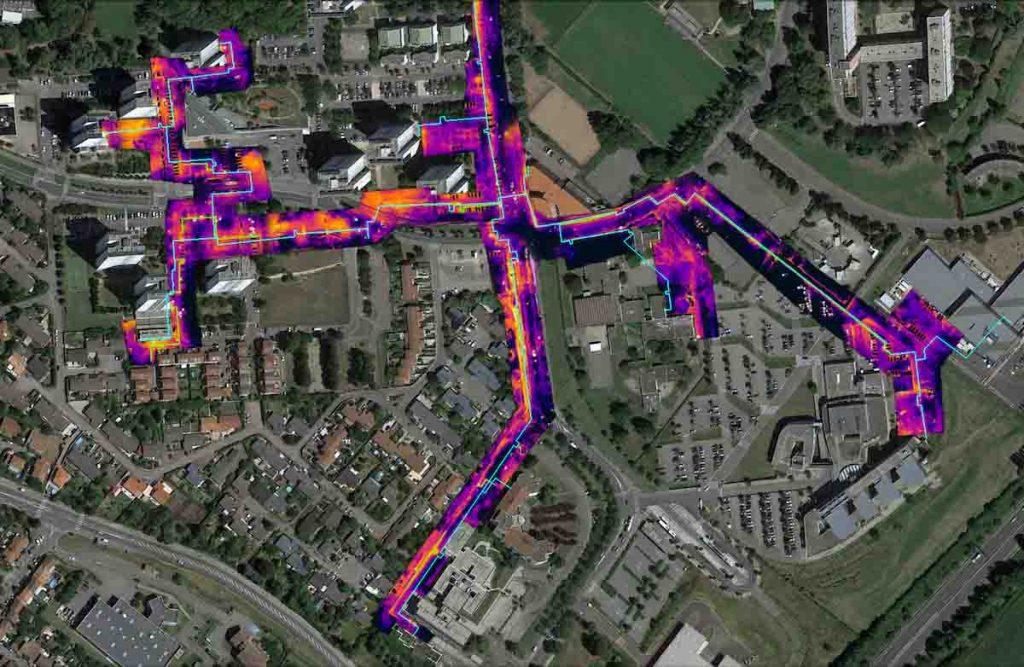 Orthophotographie thermique par drone