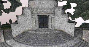 Photogrammétrie de monuments en 3d par drone
