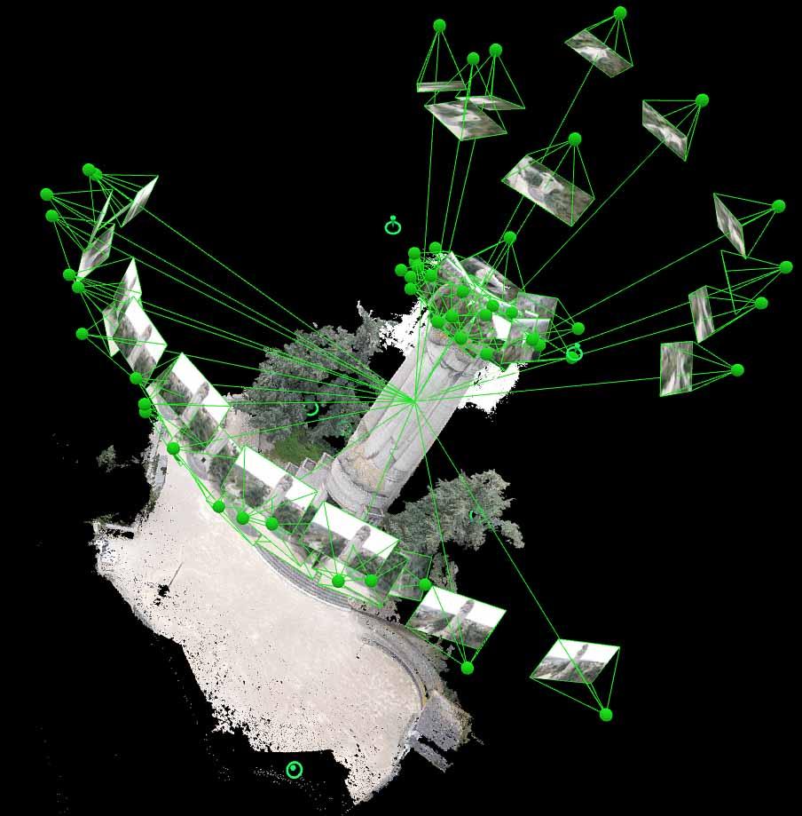 Modélisation 3d par drone de monuments