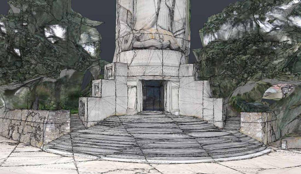 Photogrammétrie et modélisation 3d par drone