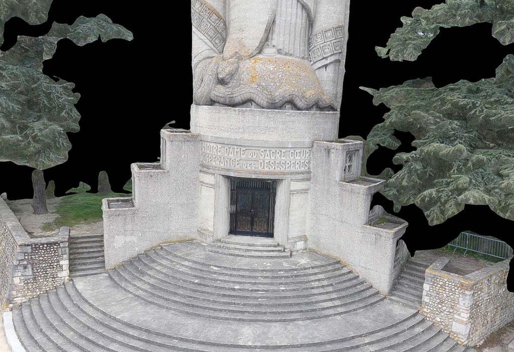 Modélisation 3d de monuments par drone
