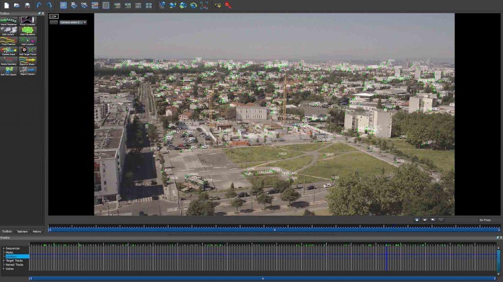 Logiciel insertion bâtiment dans vidéo