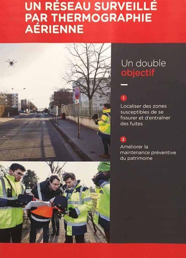 Thermographie aérienne – Inspection de réseau de chaleur à Lyon