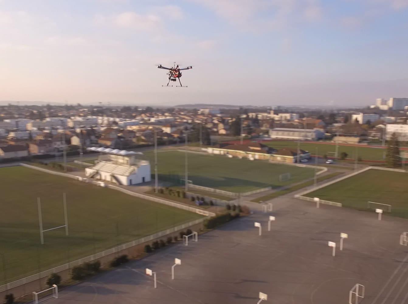 drone thermographie aérienne dalkia