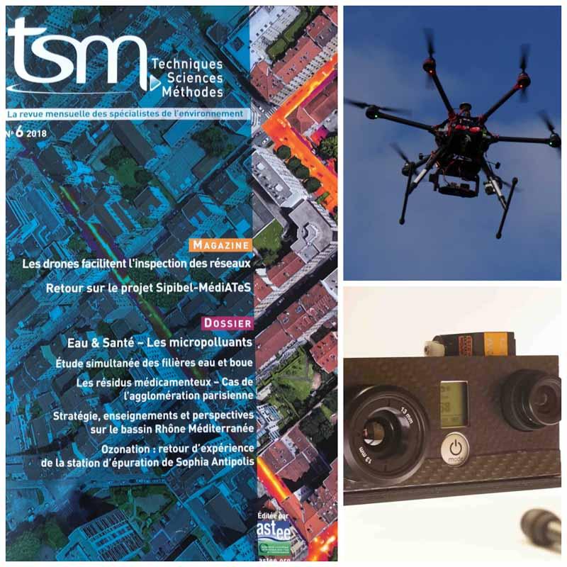 Drone et réseaux de chaleurs : L'avantage de L'inspection thermique aérienne