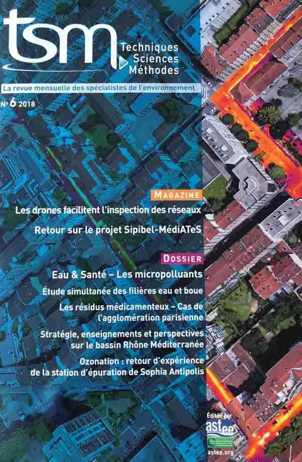 magazine publication réseau de chaleur par drone