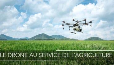 LE DRONE AU SERVICE DE L'AGRICULTURE